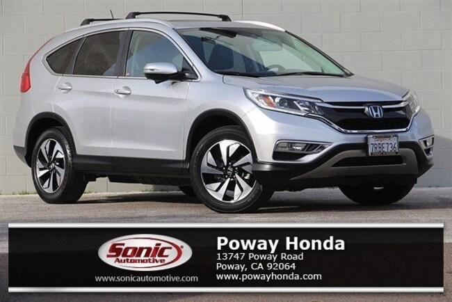 Certified 2016 Honda CR-V Touring AWD SUV near San Diego
