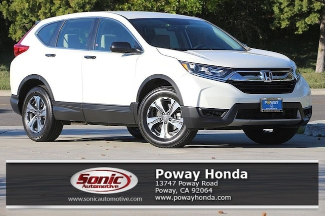 New 2018 Honda CR-V LX AWD SUV near San Diego