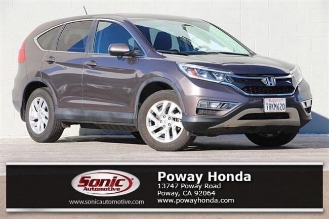 used 2016 Honda CR-V EX FWD SUV near San Diego