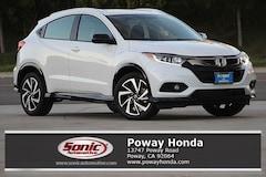 New 2019 Honda HR-V Sport 2WD SUV for sale in Poway