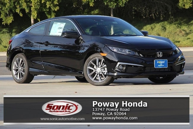 New 2019 Honda Civic EX Coupe near San Diego