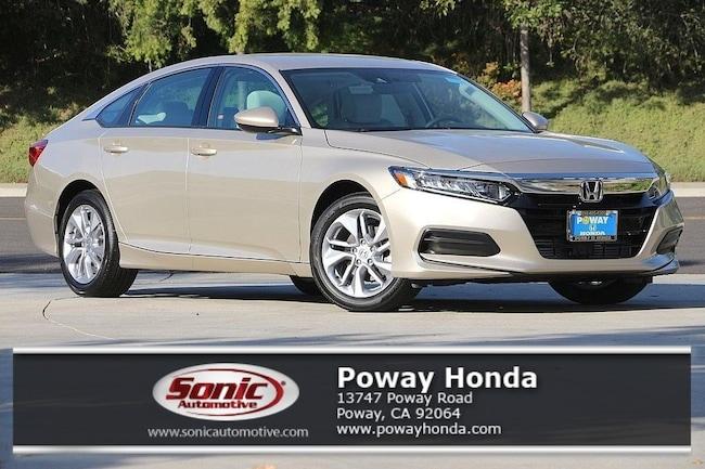 New 2018 Honda Accord LX Sedan near San Diego