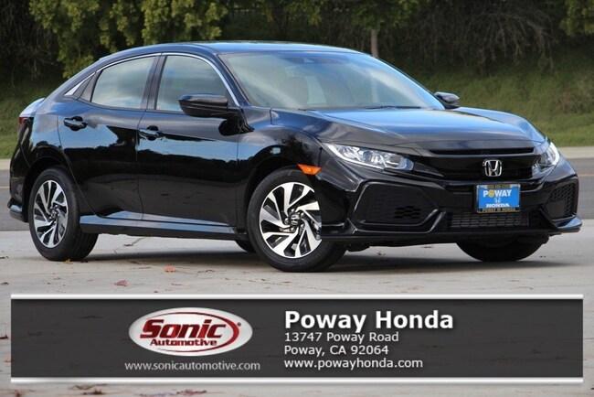 New 2019 Honda Civic LX Hatchback near San Diego
