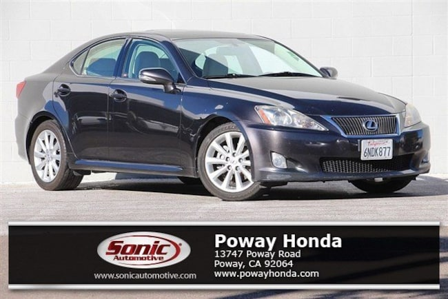used 2010 LEXUS IS 250 Base Sedan near San Diego