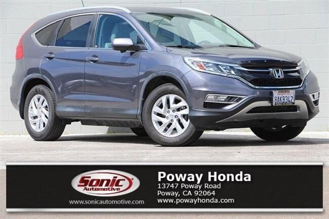 Certified 2016 Honda CR-V EX-L FWD SUV near San Diego