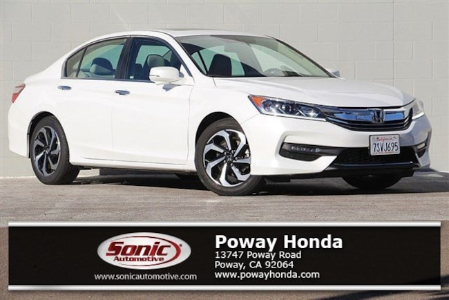 Certified 2016 Honda Accord EX-L Sedan near San Diego