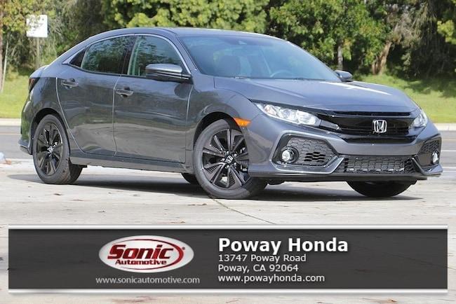 New 2019 Honda Civic EX Hatchback near San Diego