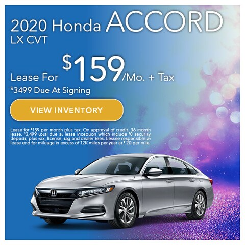 2020 Honda Accord LX CVT