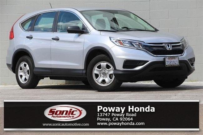used 2016 Honda CR-V LX  FWD SUV near San Diego