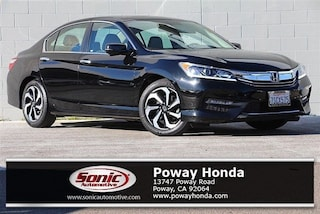 Used 2016 Honda Accord EX-L Sedan near San Diego