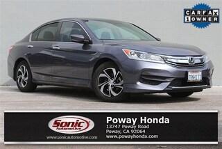 Used 2016 Honda Accord LX Sedan near San Diego