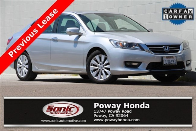 used 2015 Honda Accord EX-L Sedan near San Diego