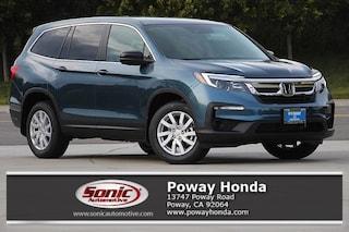 New 2019 Honda Pilot LX FWD SUV near San Diego