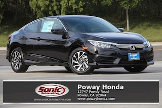 New 2018 Honda Civic LX Coupe near San Diego