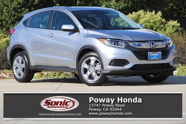 New 2019 Honda HR-V LX 2WD SUV near San Diego