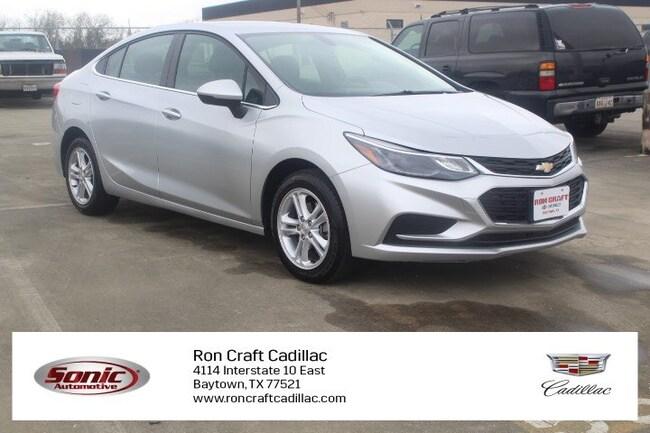 Used 2018 Chevrolet Cruze LT 4dr Sdn 1.4L  w/1SD Sedan for sale in Baytown, TX, near Houston