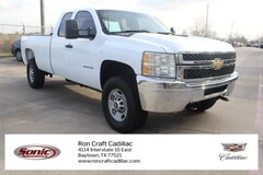 2011 Chevrolet Silverado 2500HD Work Truck 4WD Ext Cab 158.2 Truck Extended Cab