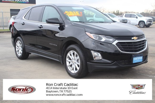 Certified Pre-Owned 2018 Chevrolet Equinox LT FWD 4dr  w/1 SUV for sale in Baytown, TX, near Houston