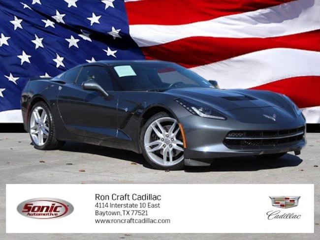 Used 2014 Chevrolet Corvette Stingray Z51 1LT 2dr Z51 Cpe w/1LT Coupe for sale in Baytown, TX, near Houston