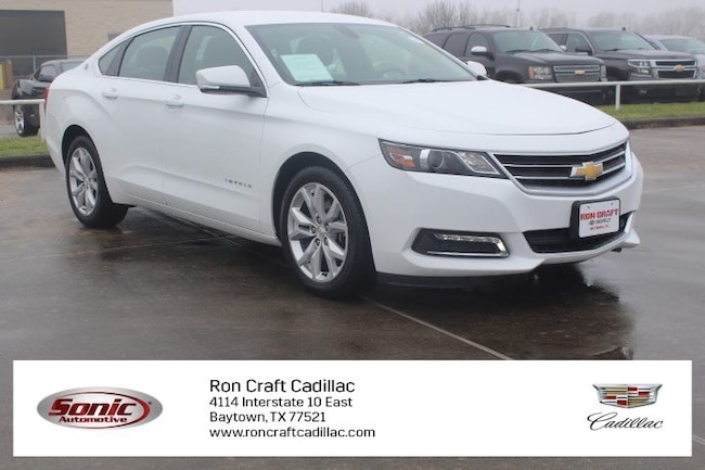 Certified Pre-Owned 2018 Chevrolet Impala LT 4dr Sdn  w/1 Sedan for sale in Baytown, TX, near Houston