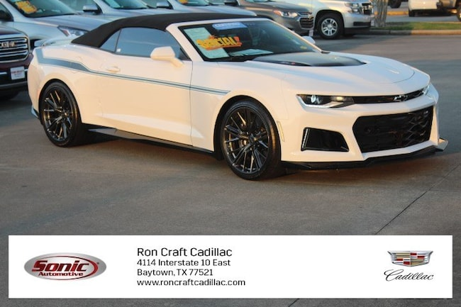 Certified Pre-Owned 2017 Chevrolet Camaro ZL1 2dr Conv Convertible for sale in Baytown, TX, near Houston