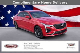 Used 2020 CADILLAC CT4-V V-Series Sedan BL0151872 for sale near Houston