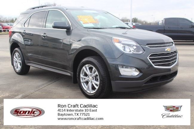 Certified Pre-Owned 2017 Chevrolet Equinox LT FWD 4dr  w/1 SUV for sale in Baytown, TX, near Houston