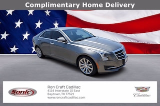 Used 2017 CADILLAC ATS Luxury RWD Sedan TH0141193A for sale near Houston