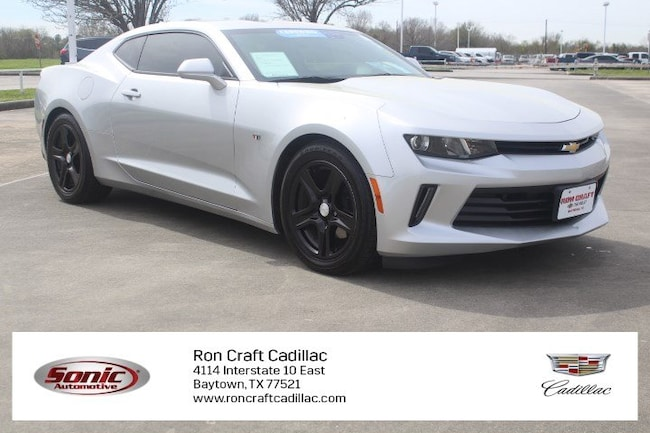 Certified Pre-Owned 2018 Chevrolet Camaro LT 2dr Cpe  w/1 Coupe for sale in Baytown, TX, near Houston