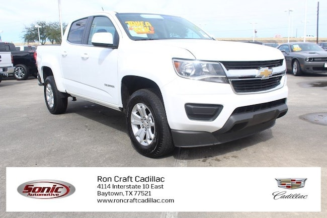 Used 2018 Chevrolet Colorado 2WD LT 2WD Crew Cab 128.3 LT Truck Crew Cab for sale in Baytown, TX, near Houston