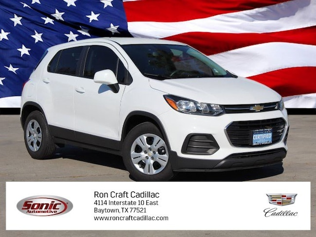 Used 2018 Chevrolet Trax Ls Fwd 4dr For Sale In Houston Tx Stock