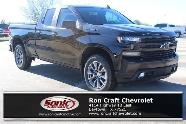 New 2019 Chevrolet Silverado 1500 RST Truck Double Cab for sale near Houston in Baytown