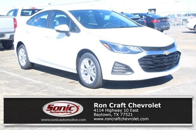 New 2019 Chevrolet Cruze LT Sedan for sale near Houston in Baytown