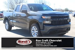 New 2019 Chevrolet Silverado 1500 Silverado Custom Truck Double Cab for sale in Baytown, TX, near Houston