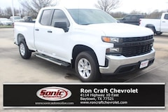 New 2019 Chevrolet Silverado 1500 Work Truck Truck Double Cab for sale in Baytown, TX, near Houston