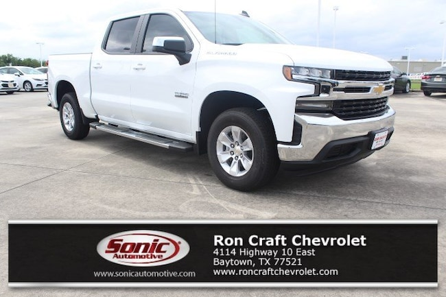 New 2019 Chevrolet Silverado 1500 LT Truck Crew Cab for sale near Houston in Baytown