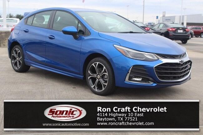 New 2019 Chevrolet Cruze LT Hatchback for sale near Houston in Baytown