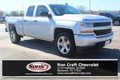 New 2018 Chevrolet Silverado 1500 Silverado Custom Truck Double Cab for sale in Baytown, TX, near Houston