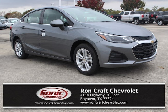 New 2019 Chevrolet Cruze LT Sedan for sale near Houston in Baytown
