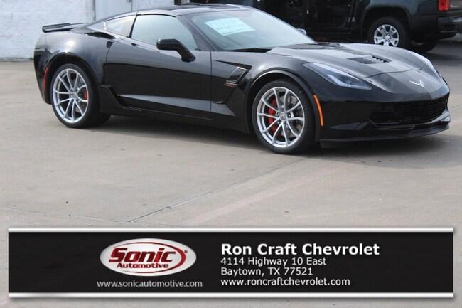 New 2019 Chevrolet Corvette Grand Sport Coupe for sale near Houston in Baytown