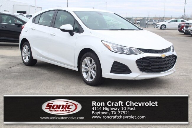 New 2019 Chevrolet Cruze LS Hatchback for sale near Houston in Baytown
