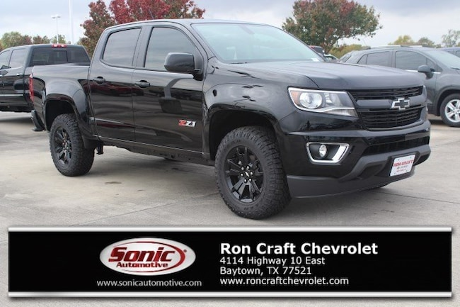 New 2019 Chevrolet Colorado Z71 Truck Crew Cab for sale near Houston in Baytown