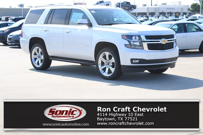 New 2019 Chevrolet Tahoe LT SUV for sale near Houston in Baytown