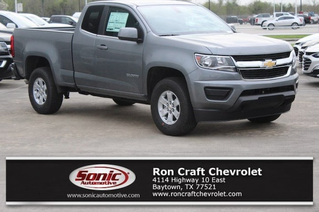 New 2019 Chevrolet Colorado WT Truck Extended Cab for sale near Houston in Baytown