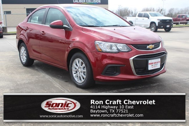 New 2019 Chevrolet Sonic LT Auto Sedan for sale near Houston in Baytown