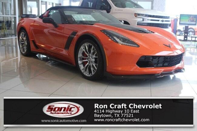 New 2019 Chevrolet Corvette Z06 Convertible for sale near Houston in Baytown