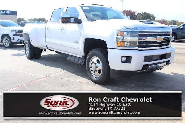 New 2019 Chevrolet Silverado 3500HD High Country Truck Crew Cab for sale near Houston in Baytown