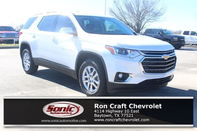 New 2019 Chevrolet Traverse LT Leather SUV for sale near Houston in Baytown