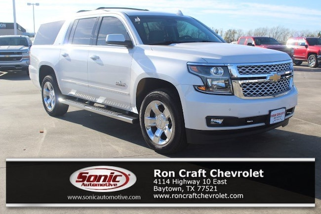 New 2019 Chevrolet Suburban LT SUV for sale near Houston in Baytown