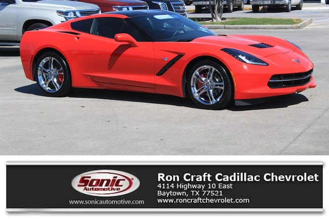 Used 2016 Chevrolet Corvette Stingray Coupe for sale in Baytown, TX, near Houston